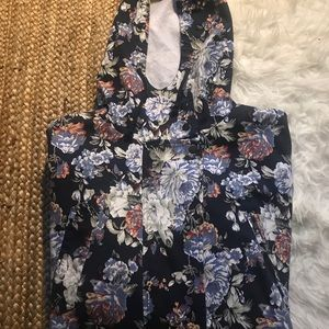 Urban Outfitters Vintage Floral Utility Jacket
